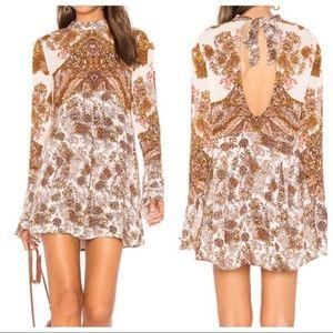 Free People Dresses - NWT Free People Lady Luck Keyhole Boho Tunic Dress